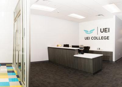 UEI College Reception