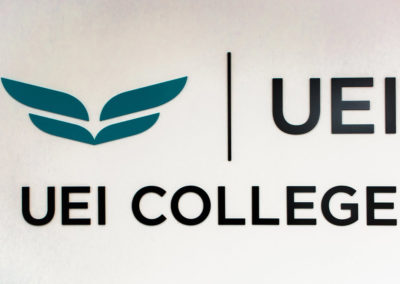 UEI College West Covina Signage