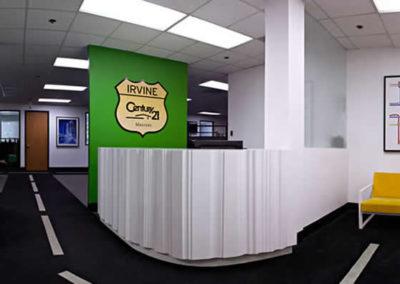 Century 21 Reception Desk