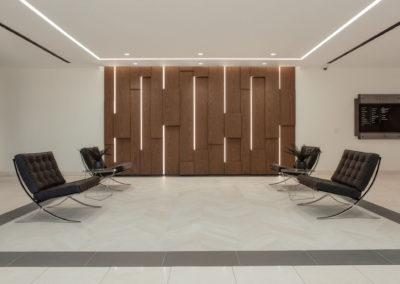 16800 Fairchild Irvine Lobby Wall