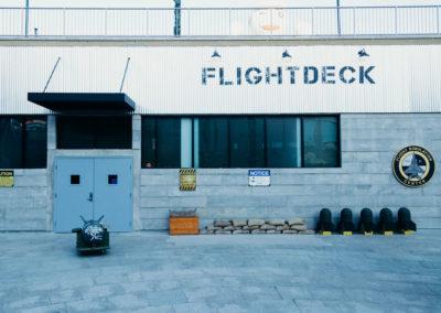 Flightdeck Building Facade
